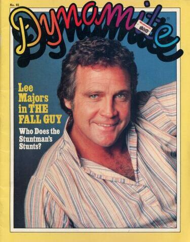 Lee Majors on the cover of Dynamite