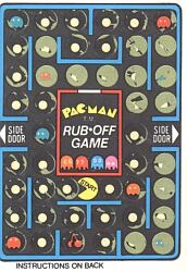Pac Man Scratch-off card